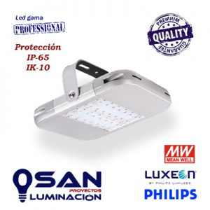 Campana Led 120w Philips Luxeon, Meanwell