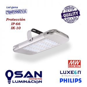 Campana Led 160w Philips Luxeon, Meanwell