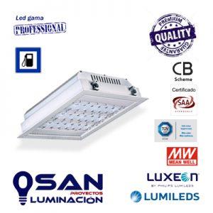 Downlight proyector Led Lumileds Luxeon, IP-66, IK-10
