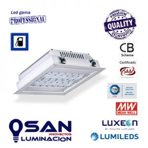 Downlight proyector Led Lumileds Luxeon, IP-66, IK-10