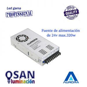 Fuente de alimentación 24v max.320w Serie  AU-LED32024CV