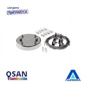 Kit ajustable para montaje en suspensión de paneles led Serie  AU-SK100B