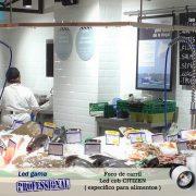 Foco de carril Led cob CITIZEN alimentos ( pescados y mariscos )