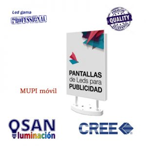Video pantalla LED multimedia móvil ( mupi )