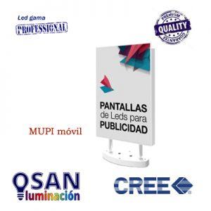 Video pantalla LED multimedia móvil ( mupi )