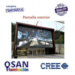 Vídeo pantallas LED multimedia para fachadas de exterior