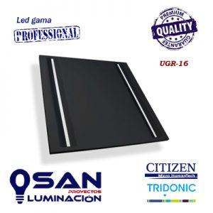 Panel 600x600 mm, High Performance, IK-06, UGR-16, 4000K, Led 44w.