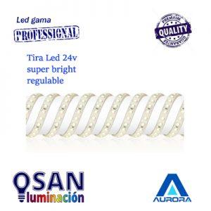 Tira Led Line Pro 24v Super Bright IP20 regulable