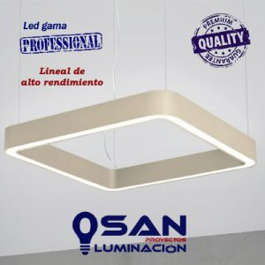 Lineal cuadrado High Performance, modular configurable