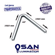 Lineal Led opal High Performance, modular curvo configurable. módulo