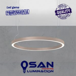 Lineal Led opal circular High Performance, modular configurable