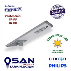 Cabeza de farola solar Led PHILIPS
