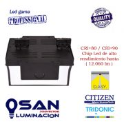 Foco de carril Led 94w Reflector Pro Maxi CRI80-CRI90 vista cenital