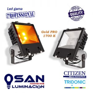 Proyector Led 120w, Gold PRO 1700K
