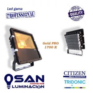 Proyector Led, Gold PRO 1700K