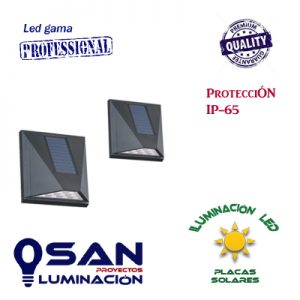 Baliza Led Solar IP-65 3w ( sensor de movimiento )