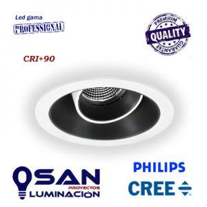 Downlight Focus Led CREE, 4000K, driver PHILIPS