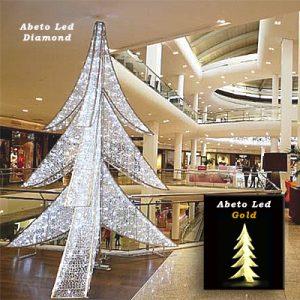 Abeto Led Diamond - Gold
