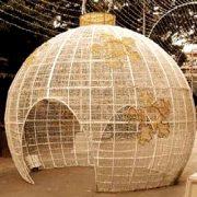Esfera Led Gigante 3D